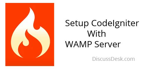 How to setup CodeIgniter in localhost with WAMP Server
