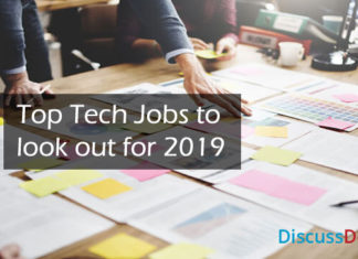 Top Tech Jobs to look out for 2019