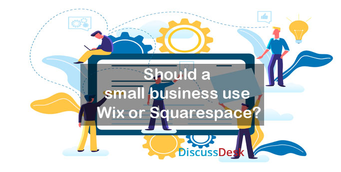 Should a small business use Wix or Squarespace