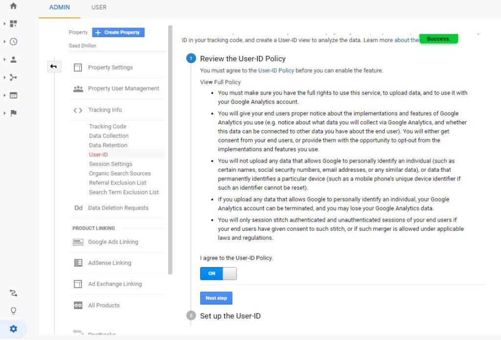 Google Analytics login image 4