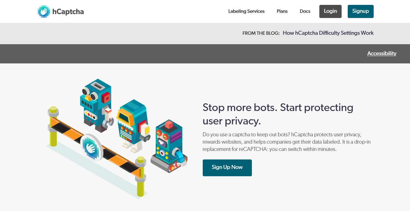 hCaptcha Website